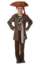 JACK Sparrow DeLuxe Boy's Fancy Dress Costume
