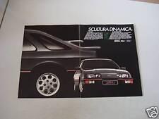 advertising Pubblicità 1983 FORD SIERRA XR4 i