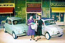 1957 Fiat Nuova 500 Cinquecento - Photo Poster