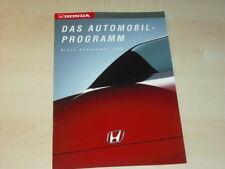 29120) Honda Accord Civic CRX NSX Prospekt 1992