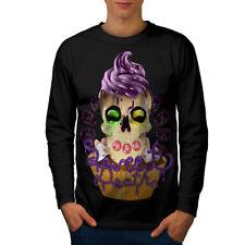 Sweet Death Cupcake Men Long Sleeve T-shirt NEW | Wellcoda