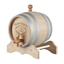 Holzfass Whiskyfass Eichenfass inkl. Gravur Quality Whisky