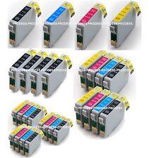 Lots cartouches d'encre compatibles Epson pour imprimantes série stylus SX D DX