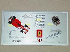 1/43 Auto Barn MR Ferrari F2001 F1 race engine Schumacher signed limited edition