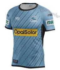 Cronulla Sharks 2018 NRL Sky Training Shirt Sizes S-5XL BNWT