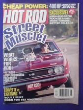 HOT ROD - CORVETTE v LIGHTENING - May 2000 vol 53 #5