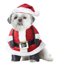 Santa Claus Pup Christmas Dog Pet Costume