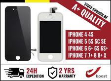 A+ LCD SCREEN SCHERM ECRAN VITRE TACTILE IPHONE 5 5S 5C SE 6 6S 6S 7 8 X Plus +