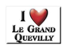 MAGNETS FRANCE - NORD PAS DE CALAIS I LOVE LE GRAND QUEVILLY  (SEINE MARITIME)