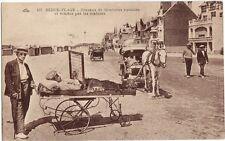 CPA -62-  BERCK-PLAGE - Travaux de Broderies exécutés et vendus par les malades.