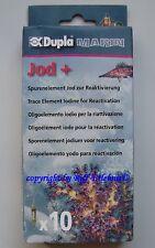 Dupla Marin Jod + 10 Ampullen   Spurenelement Trace für Meerwasser  1,39€/St.