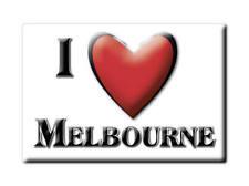 SOUVENIR UK - ENGLAND MAGNET UNITED KINGDOM I LOVE MELBOURNE (NORTH YORKSHIRE)