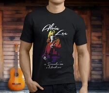 New GUITARIST ALVIN LEE THE JAYBIRDS TEN YEARS Men's Black T-Shirt Size S-3XL