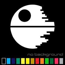 Star Wars Death Star Sticker Vinyl Decal - Sith Empire Car Window Bumper Decor