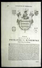 PHILIPPE de RUBEMPRE et FRANCOIS CHRISTOPHE KEUENHULLER