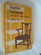 ANTHONY BIRD.ENGLISH FURNITURE.1ST H/B D/J 1961 PHOTOS