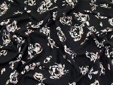 Floral Print Polyester Georgette Dress Fabric (LX-LX1722-M)