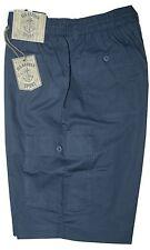 Bermuda uomo Taglia M L XL XXL 3XL pantalone corto tasconi  avio  SEA BARRIER