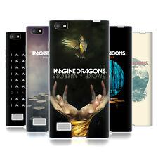 CHIAVE UFFICIALE Imagine Dragons ART Soft Gel Custodia per Telefoni BLACKBERRY