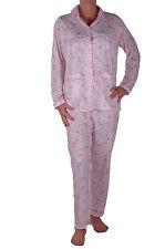 Womens Ladies Floral Pyjamas Long Sleeve Nightwear Sleep Sleeping Suit Set
