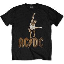 ACDC Angus Young Estatua De Música Rock Camiseta Camiseta Oficial Hombre Unisex