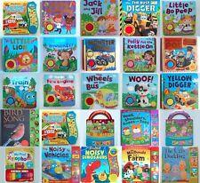 Libros de sonido de un solo & múltiples Nursery Rhymes, animales, vehículo, Cuento de Hadas! nuevo!