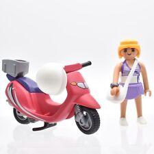 Playmobil Scooters Scooter Vespa strandmädchen femme gebräunt sac