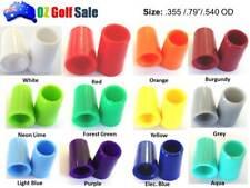 """12PCS .355"""" SUPER PREMIUM GOLF IRON COLORED FERRULES - L .79""""; .540OD -12 Colors"""
