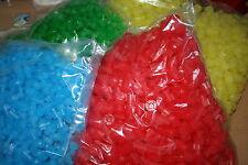 20 Stopfen Lamellenstopfen 16 mm Farbig Plastikstopfen ohne Cadmium