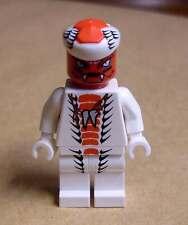 Lego Ninjago - Ninja - Snappa Schlange Schlangenkämpfer Kobra weiss rot Neu
