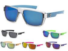Biohazard Mens Womens Trendy Revo Mirrored Wayfarer Style Sunglasses + Soft Bag