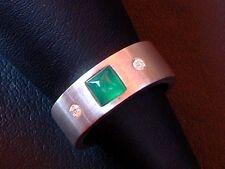 Designer Ring - Turmalin & Zirkonia - Sterling Silber - 925 -