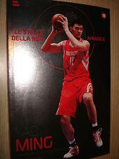 LIBRO BOOK N° 19  LE STELLE DELLA NBA AI RAGGI X YAO MING HOUSTON ROCKETS