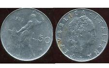 ITALIE   ITALY  50 lire 1959