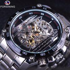 Reloj HOMBRE Forsining Militar, Diseño Deportivo. Elegante caja de acero