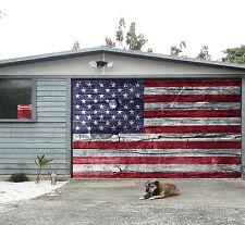 3D American Flag 4 Garage Porta Stampe Parete Decorazione Murale AJ WALLPAPER IT