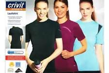 Damen Laufshirt Atmungsaktiv LYCRAY® Jogging Sportshirt T-shirt  S M L NEU