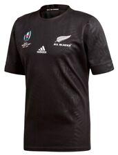 Adidas All Blacks Neuseeland Rugby World Cup 2019 Trikot Schwarz alle Größen