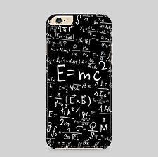 Ecuación E = mc2 Matemáticas Álgebra teléfono caso para IPhone HTC Samsung Sony LG Huawei