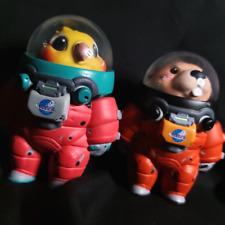 Space Adventures Animals Spaceman Art Designer Toy Figurine Display Figure Gift