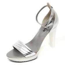 D0562 sandalo donna HOGAN H247 scarpa argento sandal shoe woman