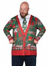 Ugly Christmas Sweater  Cardigan Tee Shirt - Fun for Women over Leggings!!
