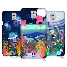 Funda HEAD CASE DESIGNS ilustraciones Submarina Funda Rígida Posterior Para Teléfonos Samsung 2
