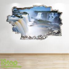 chute autocollant mural 3D LOOK - Forrest chambre salon nature Z297