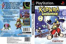 Klonoa Custom Playstation - PS1 Case (**NO GAME**)