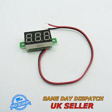 """0-30V DC 0.36"""" Voltmeter LED Two Wires Digital Display Voltage Meter"""