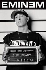 New Slim Shady Mugshot Eminem Poster