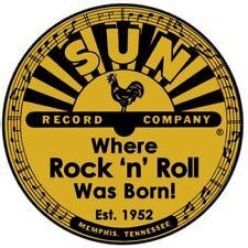 Pegatina De Vinilo Sol Rockabilly Rock and Roll Records efectivo Elvis 1950s Nashville