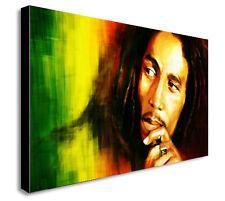 BOB MARLEY JAMAICA Canvas Wall Art  - Various sizes