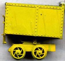 18 INCH GAUGE ROTARY MINE CART O On30 Model Railroad Unptd Static Kit GL3024